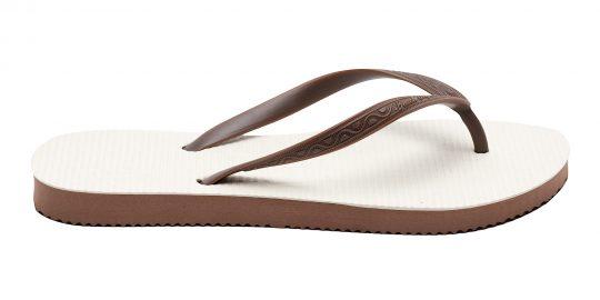 flip flop women color chocolate brow
